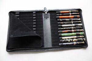 【送料無料】腕時計 ペンコレクタケースgenuine leather 24 pen collectors case