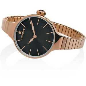 【送料無料】腕時計 フープヌーボーピンクorologio hoops nouveau chrie elastic donna nero ip rosa 2600lrg01