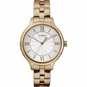 【送料無料】腕時計 ローズゴールドトーンステンレススチールブレスレットレディースコーポレーションtimex corporation womens peyton rose goldtone stainless steel bracelet
