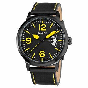 【送料無料】腕時計 シュタイナーブラックストラップクオーツ