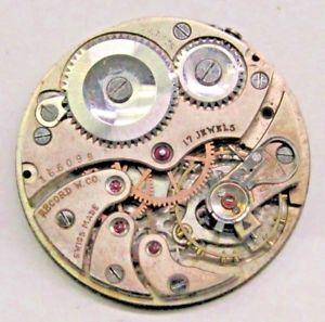 【送料無料】腕時計 アンティークレコードポケットウオッチムーブメントサイズ