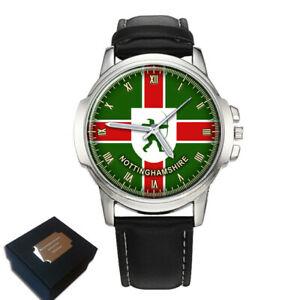 【送料無料】腕時計 ノッティンガムシャーフラグメンズウォッチnottinghamshire notts county flag mens wrist watch engraving gift