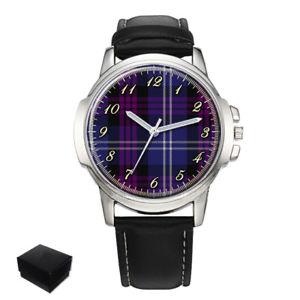 【送料無料】腕時計 スコットランドスコットランドタータンチェックheritage of scotland scottish clan tartan gents wrist watch gift engraving