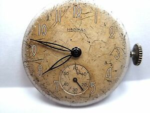 【送料無料】腕時計 ハーマンカードンアンティークウォッチantique gents harman watch movement 265 mm, 17 jewels