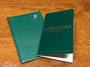 【送料無料】腕時計 ケアホルダー1990039;s longines care booklet holder