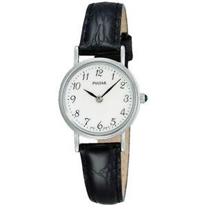【送料無料】腕時計 パルサーレディースストラップpulsar ladies leather strap watch  pta511x1pnp