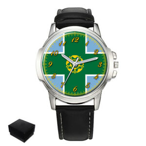 【送料無料】腕時計 ダービーシャーメンズderbyshire county flag gents mens wrist watch gift engraving