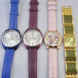 【送料無料】腕時計 ジョアンリバースクラシックスコレクションfour joan rivers classics collection watches, various designs colours, working