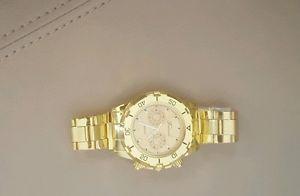 【送料無料】腕時計 { taliedu }{taliedu} men gold plated watch