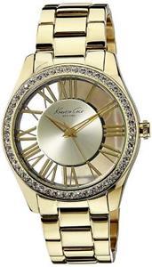 【送料無料】腕時計 ケネスニューヨークイエローゴールドウォッチkenneth cole york womens transparency yellow gold transparency kc4853 watch