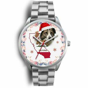 【送料無料】腕時計 カリフォルニアクリスマスストラップウォッチaidi dog california christmas special wrist watchfree shipping