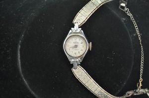 【送料無料】腕時計 ビンテージレディースウォルサムvintage ladies waltham wristwatch keeping time