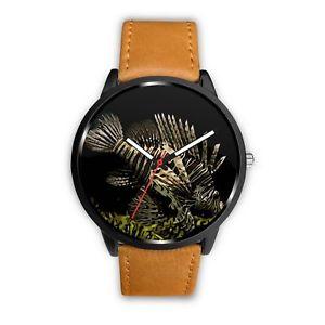 【送料無料】腕時計 クールライオンフィッシュウオッチメーカーawesome cool lion fish wristwatch
