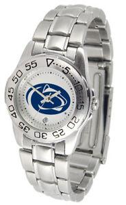 【送料無料】腕時計 ペンシルベニアライオンズレディーススポーツスチールウォッチpenn state nittany lions ladies sport steel watch