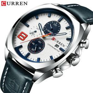 【送料無料】腕時計 アナログクォーツスポーツウオッチメーカークリスマスメンズcurren military analog quartz watch sport wristwatch xmas gifts for him dad mens