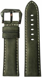 【送料無料】腕時計 リオスタイムオリーブパネライビンテージレザーウォッチストラップ22x22 rios1931 for panatime olive vintage leather watch strap for panerai
