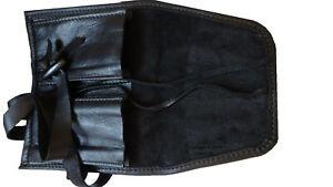 【送料無料】腕時計 ロールポーチトラベルケースwatch roll time travellers leather 2 pouch travel case personalised