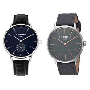 【送料無料】腕時計 ベンシャーマンポートベローメンズストラップウォッチben sherman portobello mens strap watch