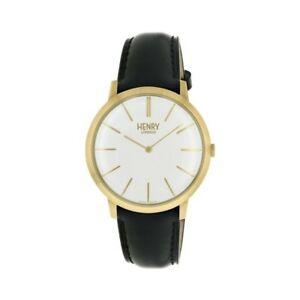 【送料無料】腕時計 ヘンリーロンドンウォッチhenry london gents gold plated watch hl40s0238hlnp