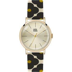 【送料無料】腕時計 レディースストラップorla kiely patricia ladies leather strap watch ok2074oknp