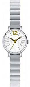 【送料無料】腕時計 レディースステンレススチールブレスレットorla kiely frankie ladies stainless steel bracelet watch ok4005oknp