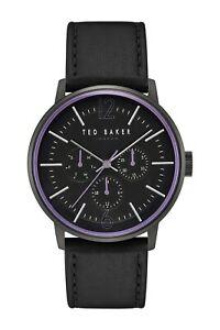 【送料無料】腕時計 テッドベーカーロンドンメンズドルジェイソンマルチファンクションレザーストラップウォッチ155 ted baker london mens jason multifunction leather strap watch, 42mm
