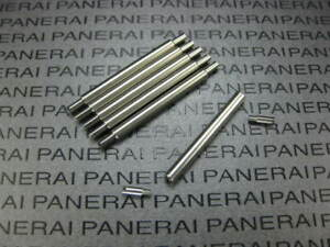 【送料無料】腕時計 スイスステンレスプレパネライセットswiss stainless prev tube screw 5218201a, 5218 202a for panerai 3 set reg
