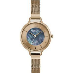【送料無料】腕時計 ケネスレディースローズゴールドメッキウォッチkenneth cole ladies rose gold plated watch kc15187001