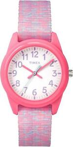 【送料無料】腕時計 ユースピンクウォッチtimex kidz time teacher childrens youth pink watch tw7c123004e