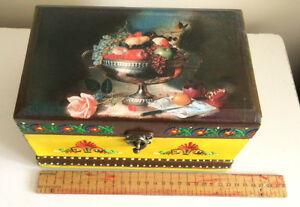【送料無料】腕時計 ジュエリーブレスレットボックスストレージオーガナイザーケースhand decorated jewelry bracelet gift box storage organizer wood case