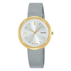 【送料無料】腕時計 パルサーレディースメッシュブレスレット×pulsar ladies mesh bracelet watch ph8386x1pnp
