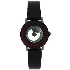 【送料無料】腕時計 ピンククリスタルフリップブラックオープンストラップレディースファッションウォッチ