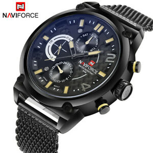 【送料無料】腕時計 ブランド#アナログクォーツクリスマスnaviforce luxury brand men039;s analog quartz watches xmas gifts for him father son