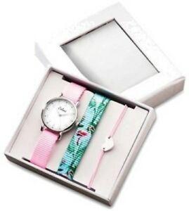超爆安 【送料無料】腕時計 キッズピンクフラミンゴウォッチストラップハートブレスレットcolori kids kids pink watch pink w flamingo strap flamingo amp; heart bracelet set, ARTINN Golf Design:6d4f6aab --- coursedive.com