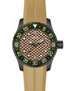【送料無料】腕時計 プロダイバーメンズアナログクォーツステンレススチールベージュシリコンウォッチinvicta mens pro diver analog quartz stainless steelbeige silicone watch 28434