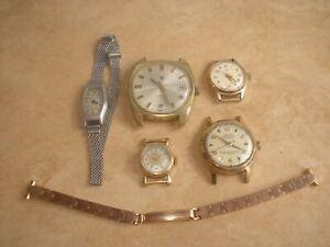 【送料無料】腕時計 ロットドリップlot de montres anciennes lip norexa elg  rparer ou pour pices