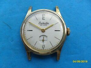 【送料無料】腕時計 ビンテージorologio vintage selecta de luxe