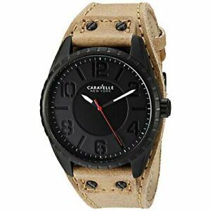 【送料無料】腕時計 メンズニューヨークブラックステンレススチールウォッチ