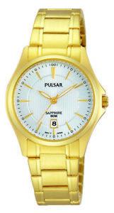 【送料無料】腕時計 パルサーレディース×pulsar ladies gold plated watch  ph7424x1pnp