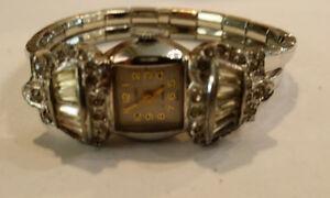 【送料無料】腕時計 ヴィンテージvintage 1950s ladys welsbro 17j very unique windup wristwatch