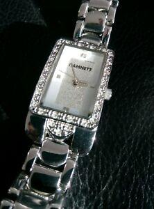 【送料無料】腕時計 キャサリンレディースステンレスクォーツbnib katherine hamnett ladies stainless quartz watch