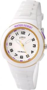 【送料無料】腕時計 プラスチックストラップケースlimit white plastic strap amp; case wrist watch