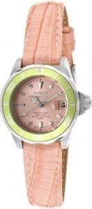 【送料無料】腕時計 プロダイバーピンクレザーストラップウォッチ womens invicta 11715 pro diver pink leather strap watch