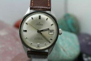 【送料無料】腕時計 ビンテージオリジナルステンレスメンズvintage original tradition automatic 17j all stainless mens wrist watch running