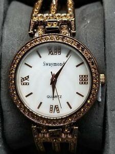 【送料無料】腕時計 ムーンクリスタルウォッチswaymond womens crystal watch