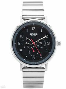 【送料無料】腕時計 モデルメンズステンレススチールブラックアナログウォッチ