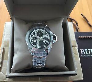 腕時計 スポーツメンズステンレススチールウォッチburei sport 50m mens bm7012p51eye stainless steel watch nwt