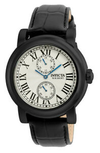 【送料無料】腕時計 メンズラウンドシルバーストーンローマアナログウォッチinvicta 22257 mens round silver tone roman numeral 12 amp; 24 hr analog watch