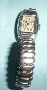 【送料無料】腕時計 パーカービンテージアンティークレディースクォーツparker vintage antique ladies quartz wind up wristwatch silver works
