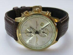 【送料無料】腕時計 メンズクロノグラフモデルtriumph mens chronograph wristwatch model 3013 minty